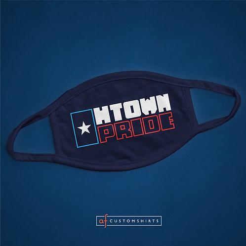 H-Town Pride Mask - Navy