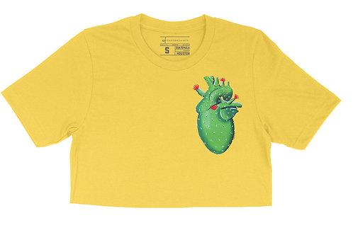 Cactus Heart - Crop Top