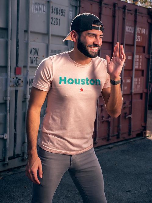 Peach Houston Shirt