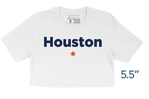 Houston Star - Crop Top