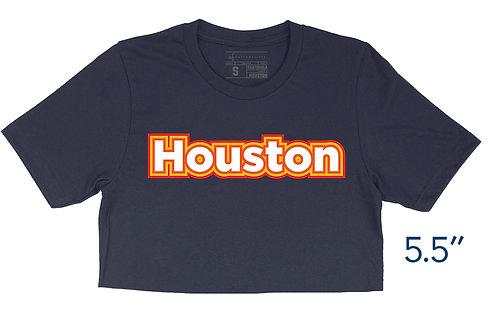 Houston Outlines - Crop Top