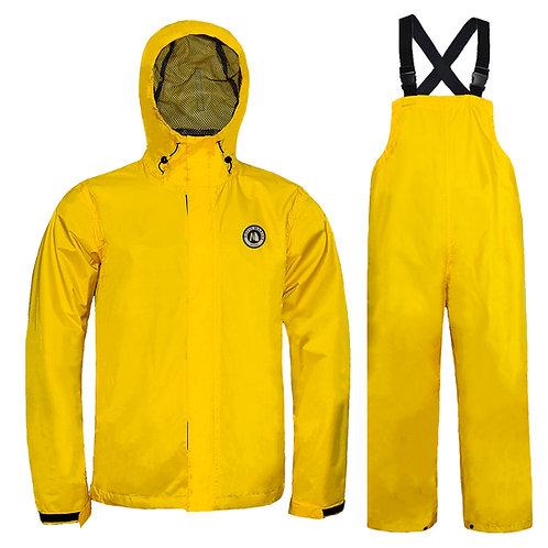 Navis Marine Fishing Rain Jacket Bib Pants Light Weight Waterproof