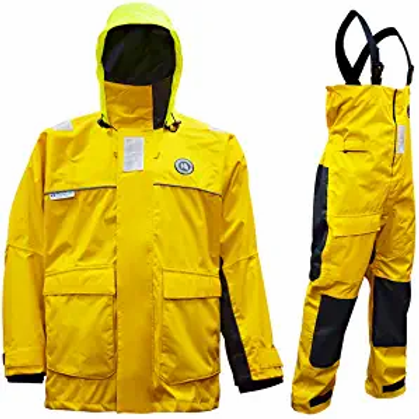 Navis Marine Coastal Sailing Jacket with Bib Pants Fishing Rain Suit