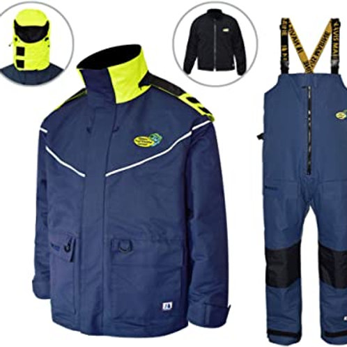 Navis Marine Sailing Jacket with Bib PantsWaterproof Breathable Rain Suit