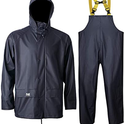 Navis Marine Rain Suit Heavy Duty Workwear Waterproof Jacket