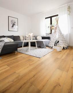 wineo Wohnwelten Wohnzimmer Laminat zum