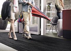 Sauberlauzone Empfangsberich, Teppich Schmutzschleusen & Schmutzfänger Teppich