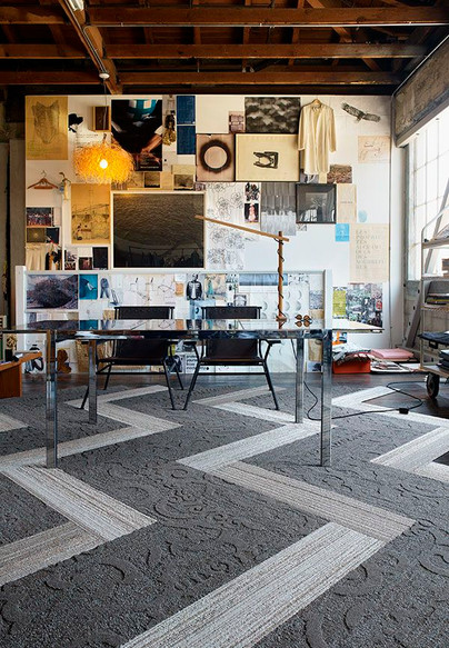 Interface Teppich Modular Carpet Tile Narrative
