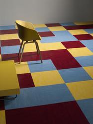 Linoleum Modular colour 50x50 3238-3251-3127 LR