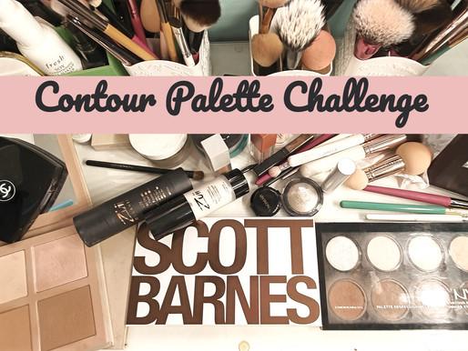 Unboxing New USA Contour Palette : Scott Barnes + Swatches with KKW & Nyx #unboxingscottbarnes