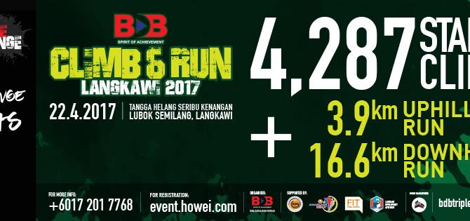 BDB TRIPLE CHALLENGE: CLIMB & RUN 2017