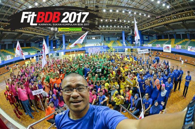 Karnival Sukan Kumpulan BDB 2017 Berlangsung Dengan Jayanya