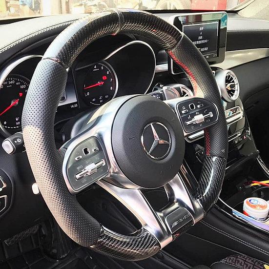 Mercedes Benz Carbon Fiber Steering Wheel