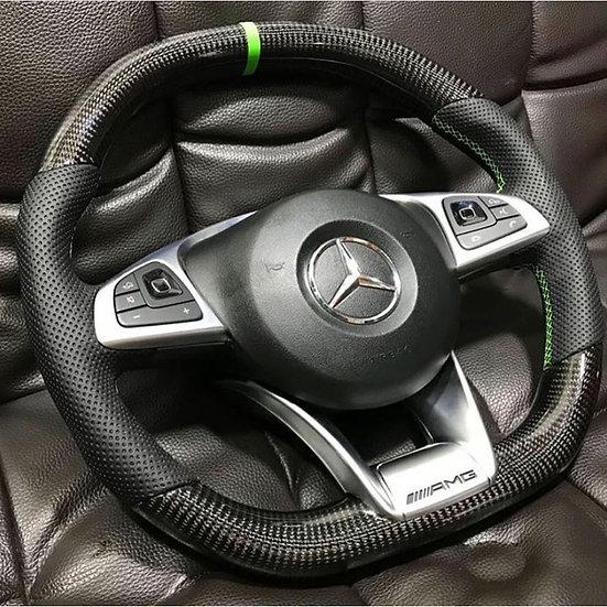 Carbon Fiber Mercedes Benz Steering Wheel