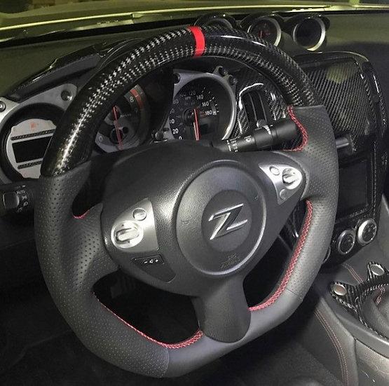 Nissan 370z Carbon Fiber Steering Wheel