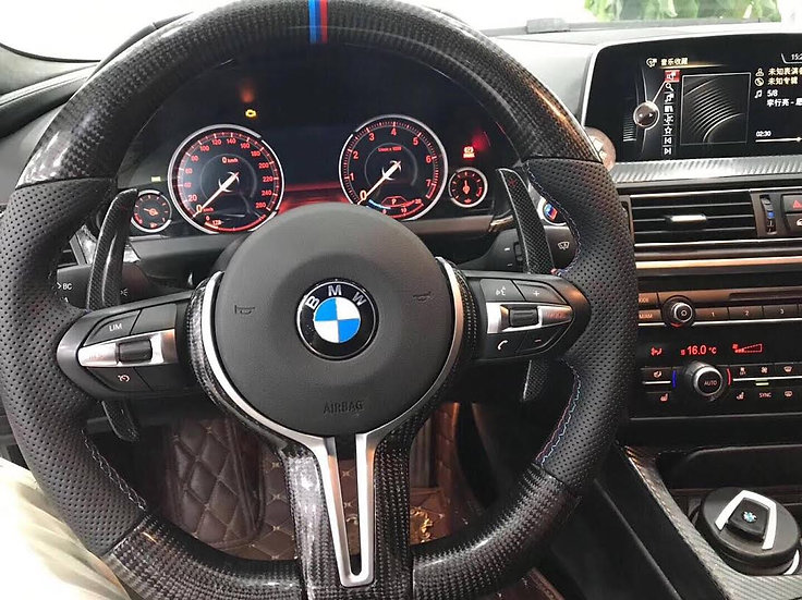 BMW Perfomance Carbon Fiber Steering Wheel