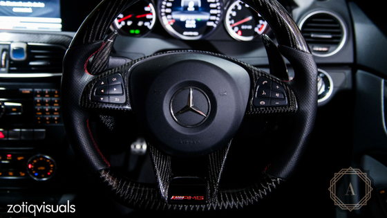 CARBON FIBER MERCEDES BENZ STEERING WHEEL