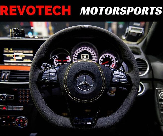 Full Alcantara Steering Wheel for Mercedes Benz