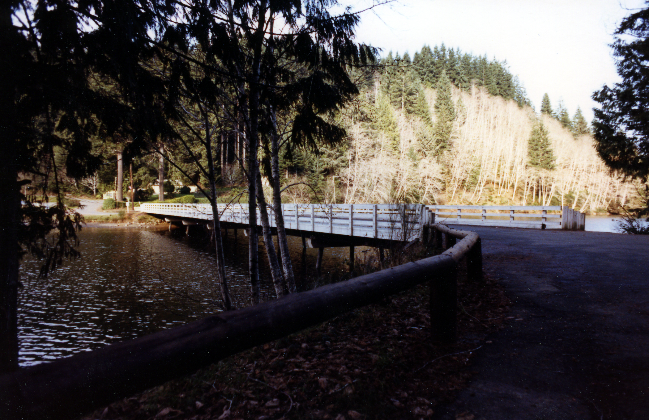 Lake Silvia State Park Bridge
