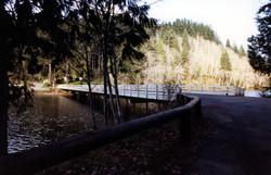 Lake Silvia State Park Bridge