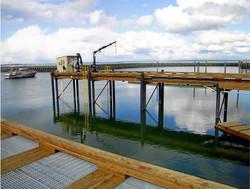 Piers in Westport Marina