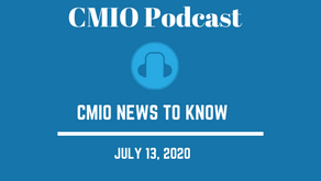 CMIO News to Know for the Week of July 12th