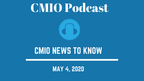 CMIO News to Know for the Week of May 4th