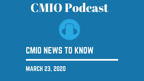 CMIO News to Know for the Week of March 23rd