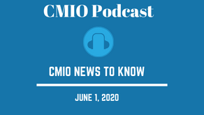 CMIO News To Know for the Week of June 1