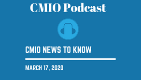 CMIO News to Know for the Week of March 17th