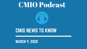 CMIO News to Know for the Week of March 9th