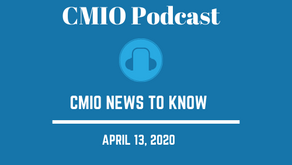 CMIO News to Know for the Week of April 13th