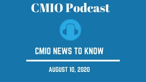 CMIO News to Know for the Week of August 10th