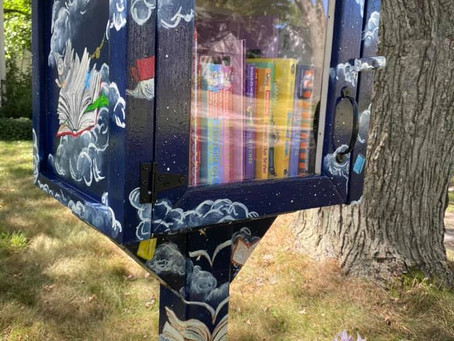 The Art of Planting Little Free Libraries