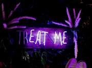Treat Me/ Eat Me Neon Sign | Neon Light Artwork