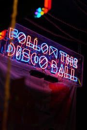Follow The Disco Ball Neon Sign | Neon Light Artwork