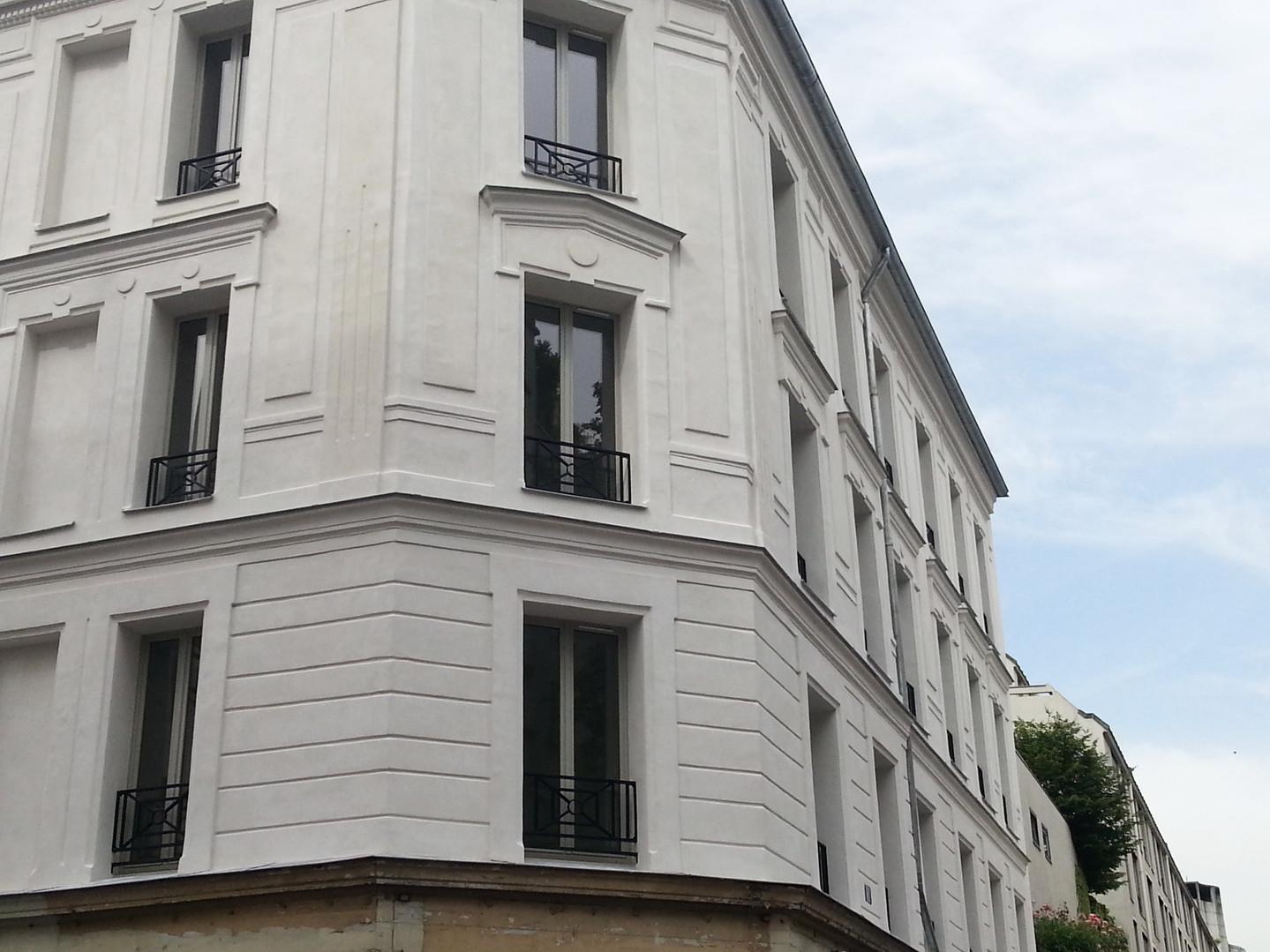 Réhabilitation immeuble 75018