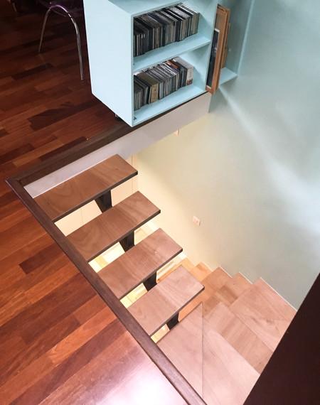 Escalier sur mesure à Paris 19ème