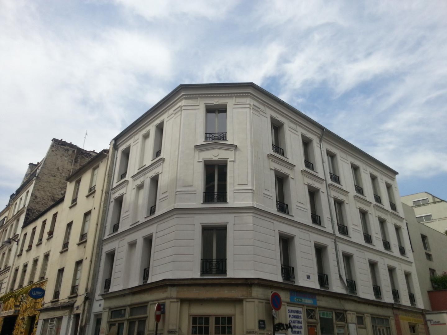 Immeuble rue Léon