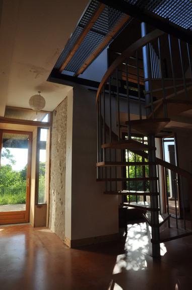 Construction sur deux niveaux