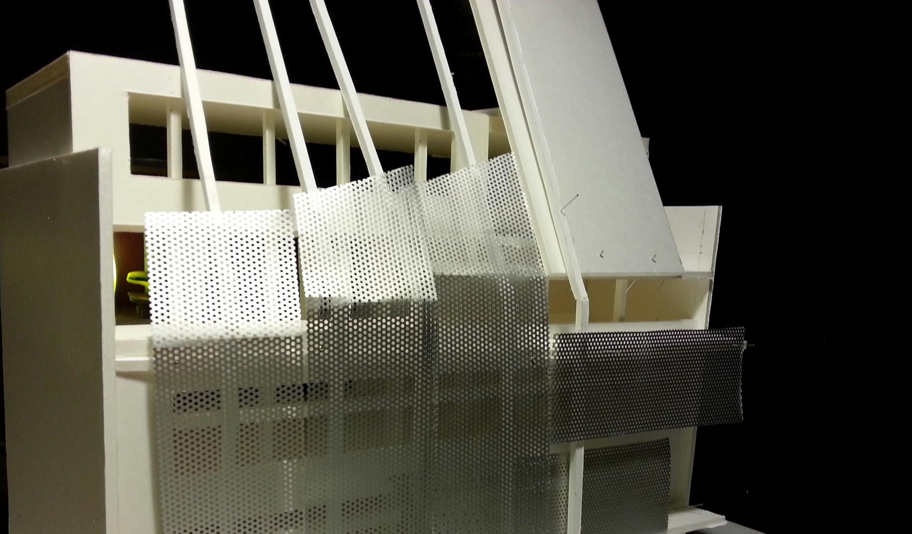 maquette projet bureaux à montreuil