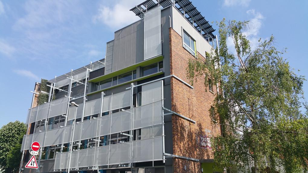 vue d'ensemble de l'immeuble de bureau