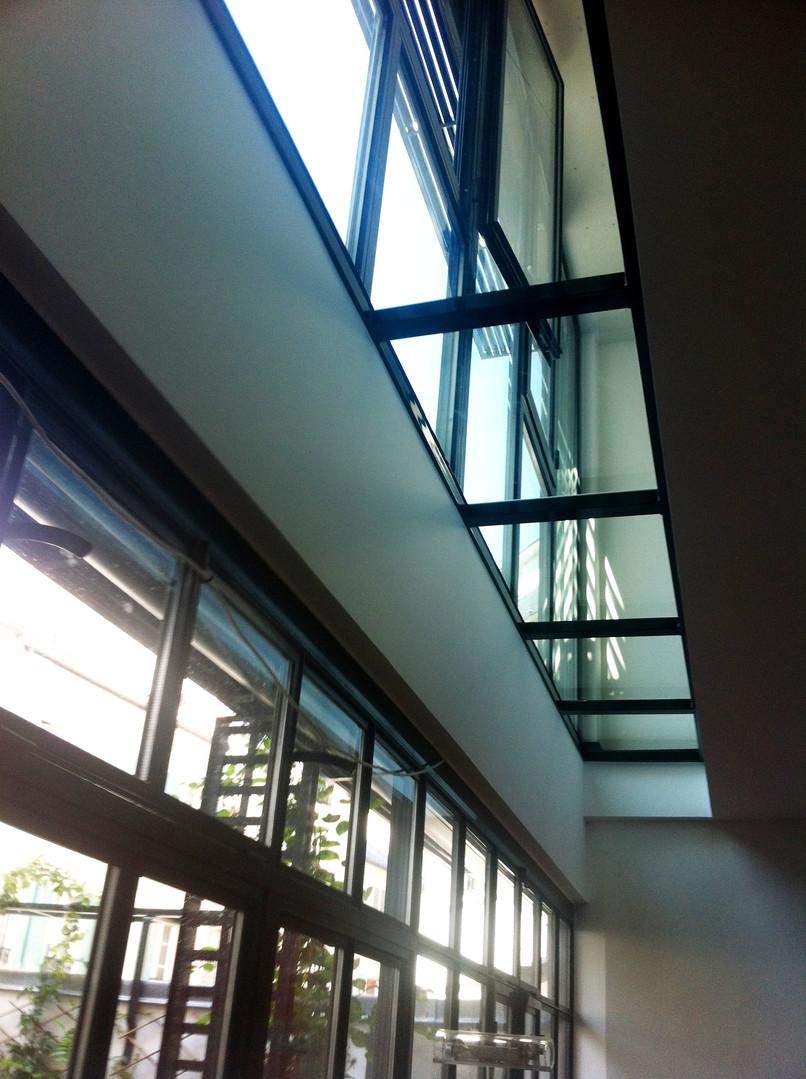 Plancher vitré intérieur