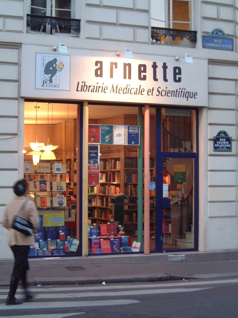 Librairie médicale Arnette