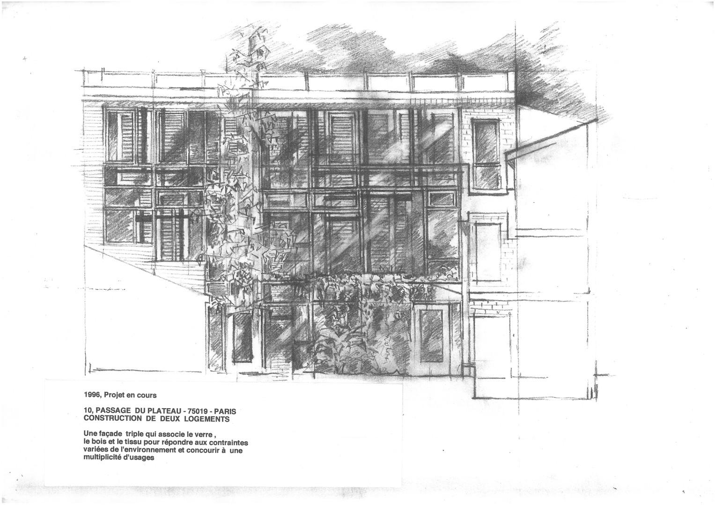 Projet maison individuelle Paris