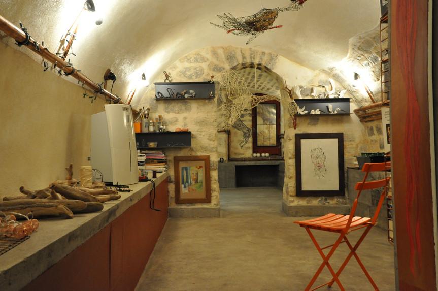 atelier en sous-sol parisien