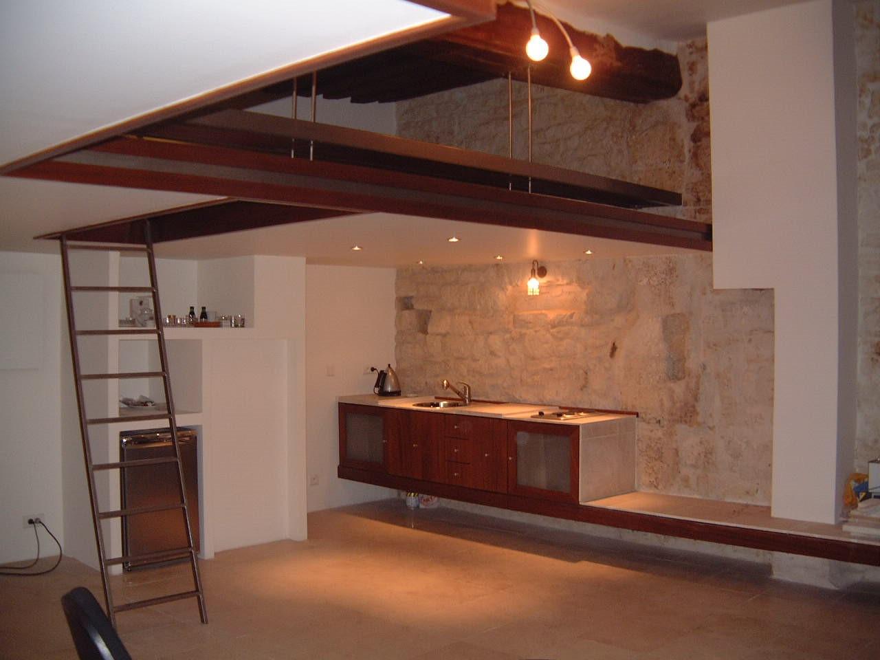 Rénovation studio parisien