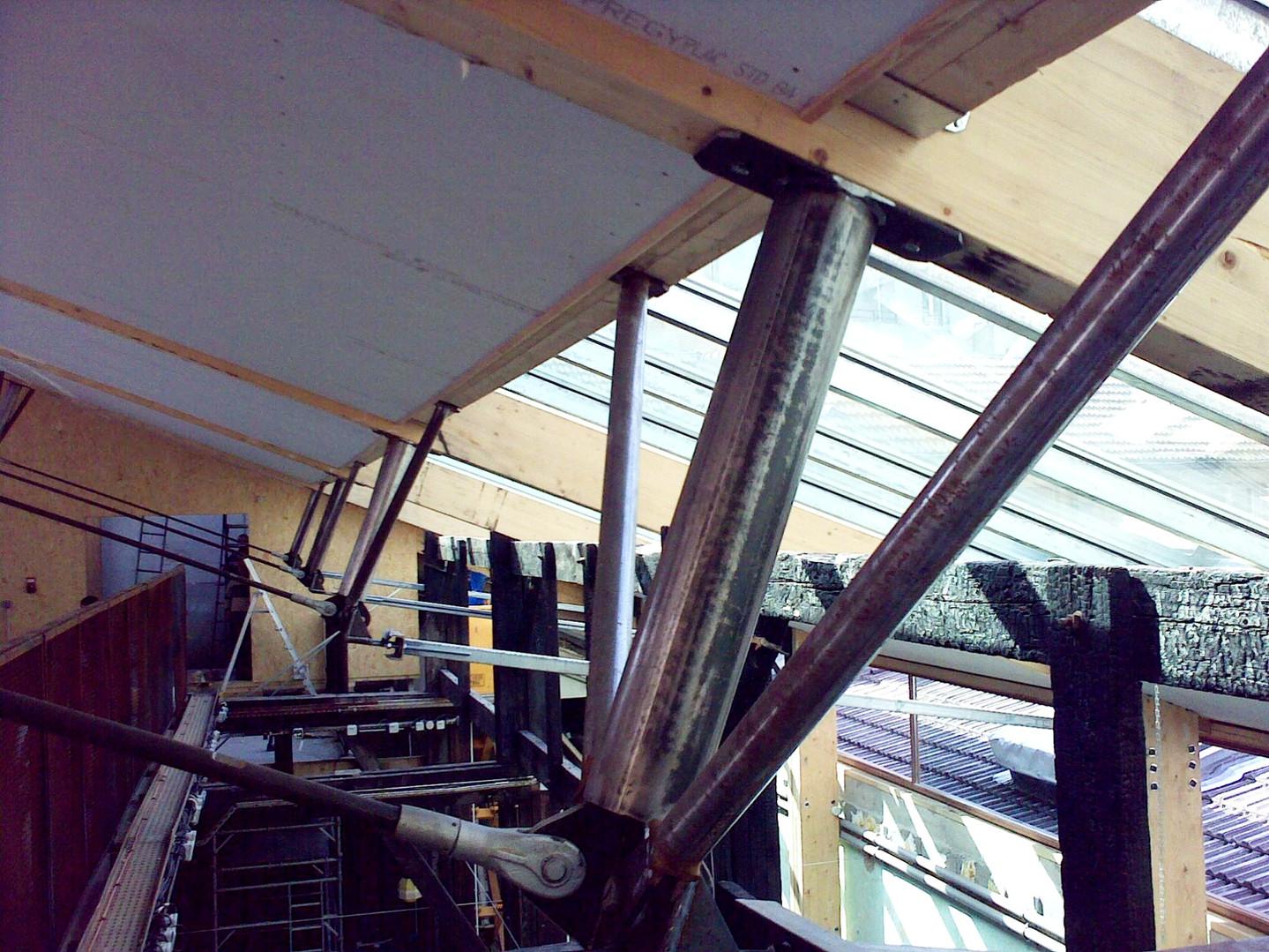 chantier de la toiture Paris