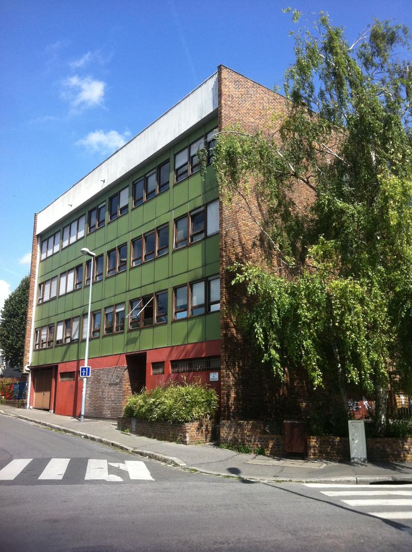 bâtiment existant pour le projet Inex