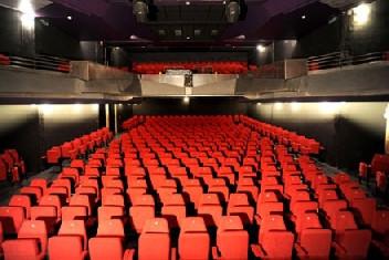 la salle de concert amplifiée
